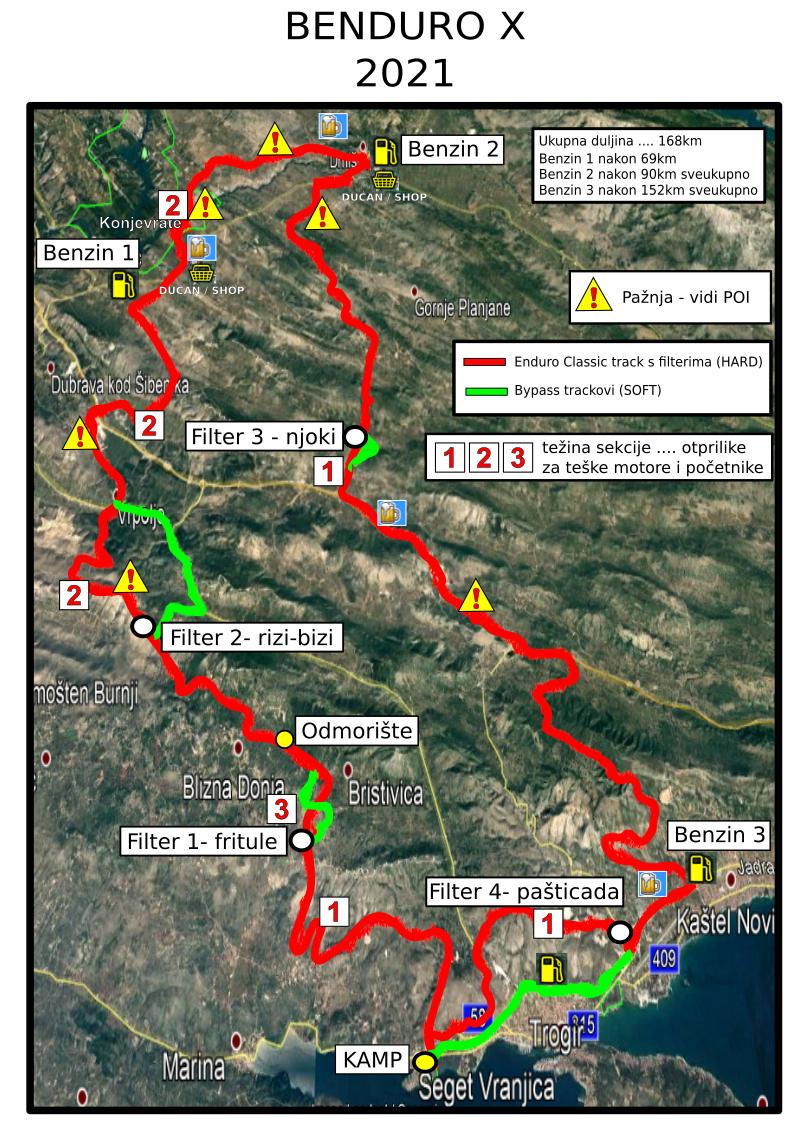 BENDURO X - map - s oznakama tezine.jpg